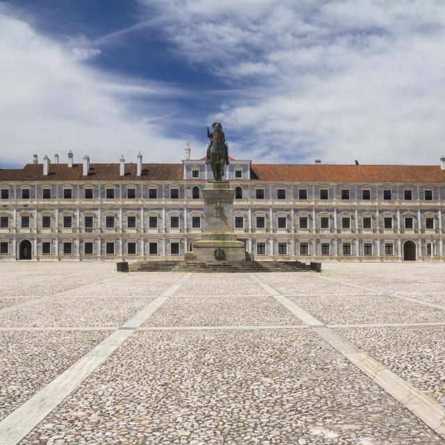 """Vila Viçosa Ducal Palace"" stock image"