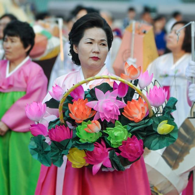 """""""Buddha Festival"""" stock image"""