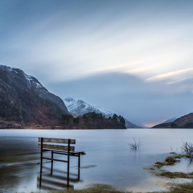 """Loch Shiel"" stock image"