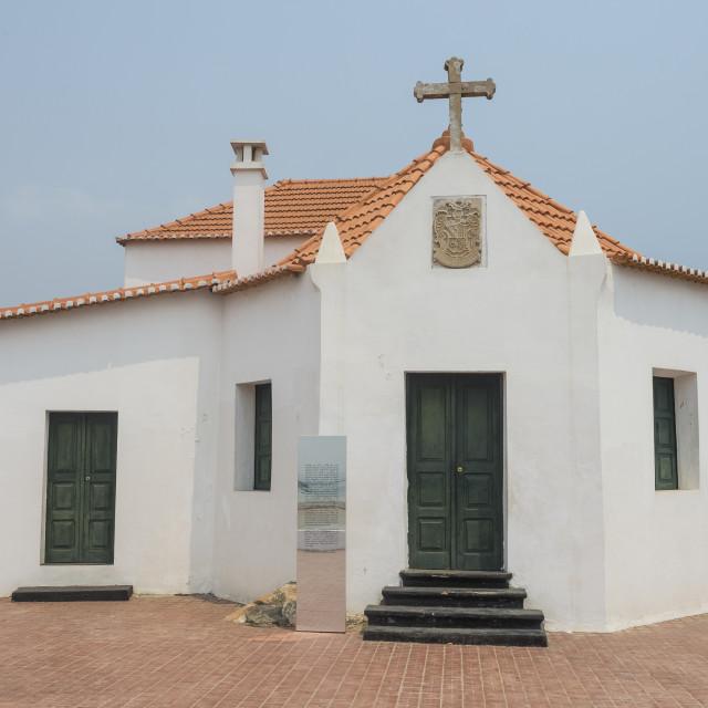 """Atlantic slave trade museum, Luanda, Angola"" stock image"
