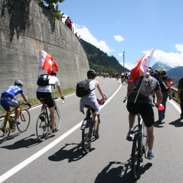 """Verbier - Tour de France 2009"" stock image"