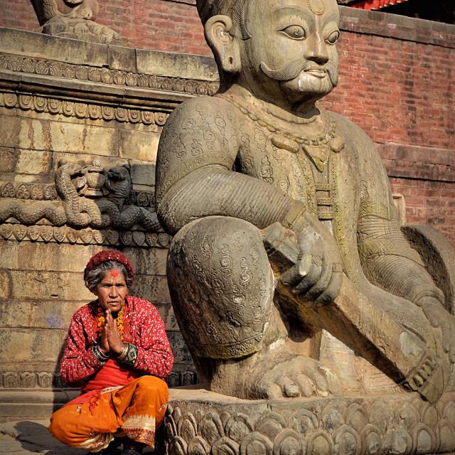 """Hinduism devotee"" stock image"