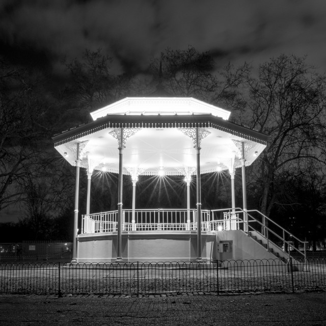 """Bandstand"" stock image"