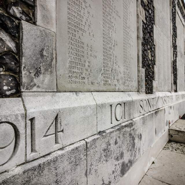 """Tyne Cot Remembrance"" stock image"