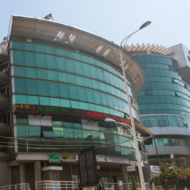"""The ethiopia commodity exchange building, Addis abeba region, Addis ababa,..."" stock image"