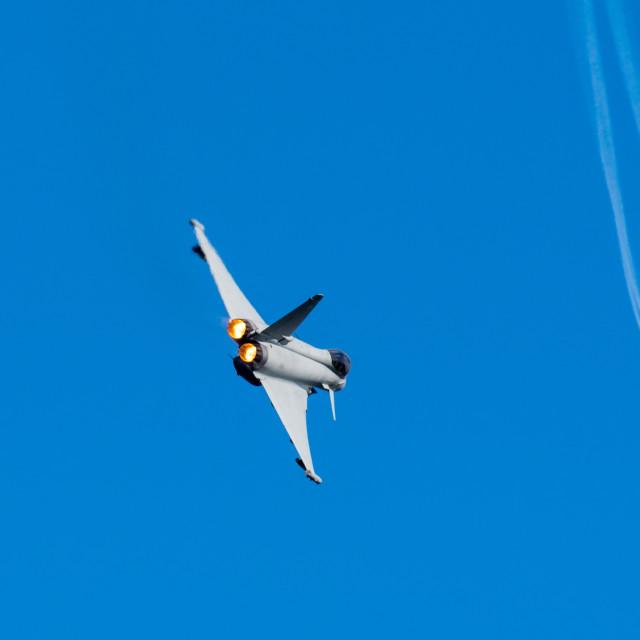 """RAF Typhoon Display"" stock image"