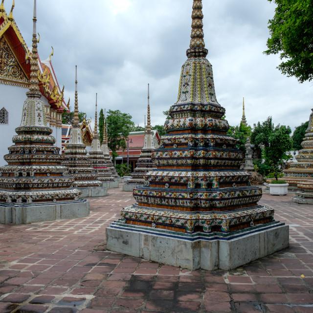 """Wat Pho Temple"" stock image"