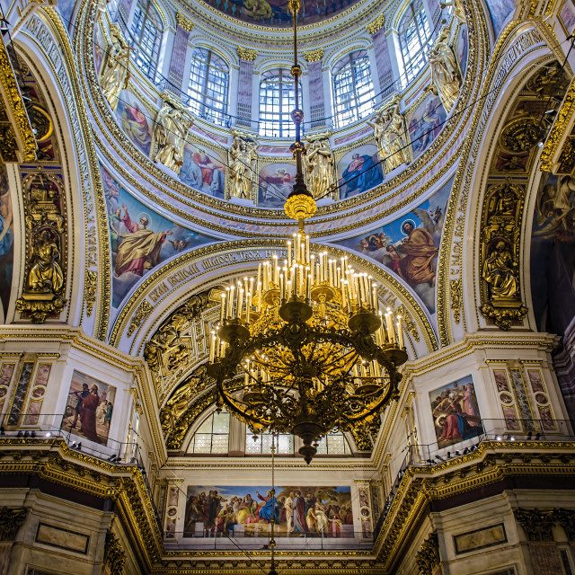 """""""St Issac's Cathedral"""" stock image"""