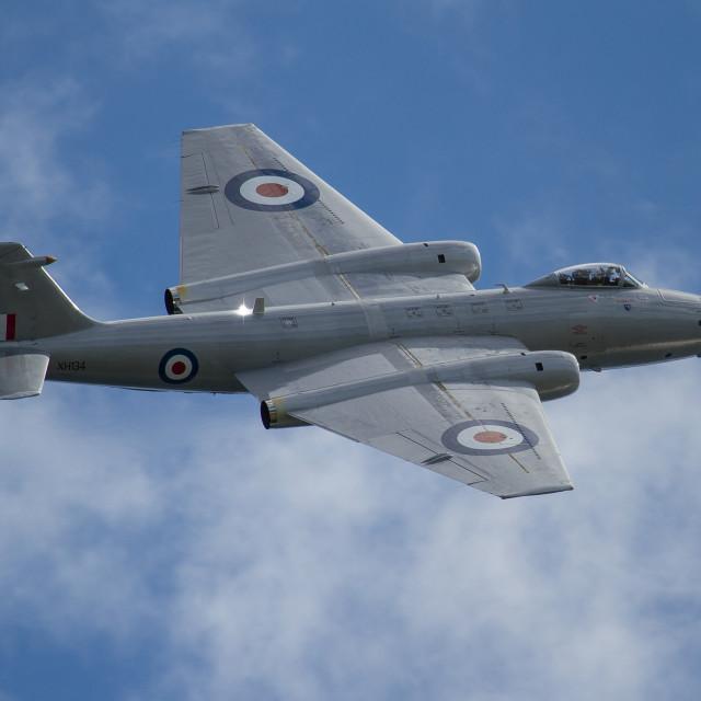 """Midair Squadron Canberra PR9"" stock image"