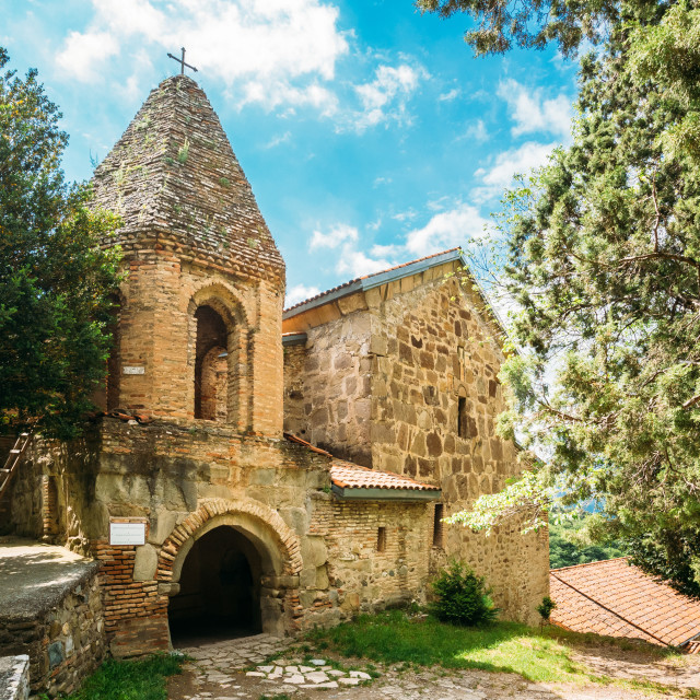 """Mtskheta Georgia. Church Of St. John The Baptist, Earliest Stone Building Of..."" stock image"