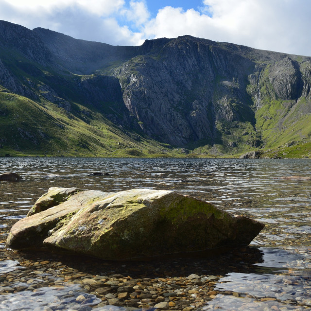 """""""Llyn Idwal, Snowdonia,North Wales"""" stock image"""