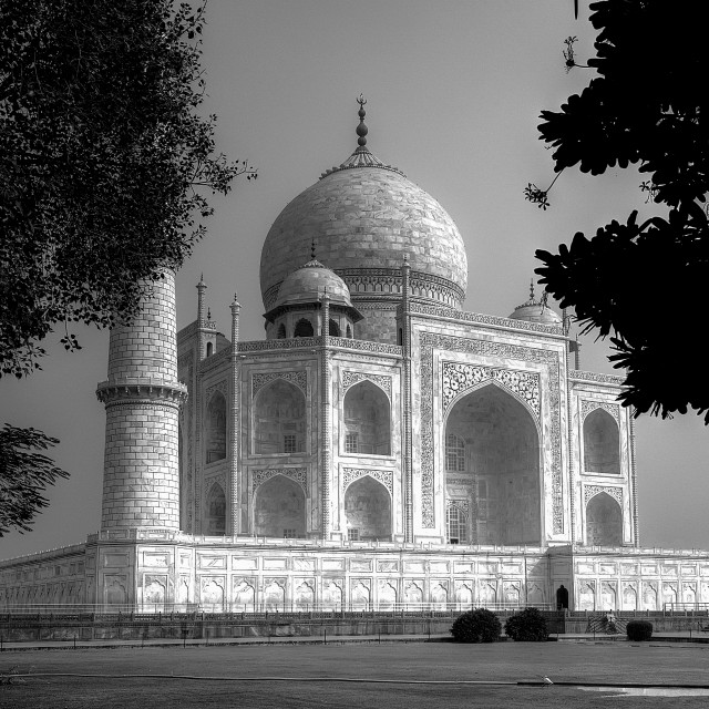 """The Taj Mahal!"" stock image"
