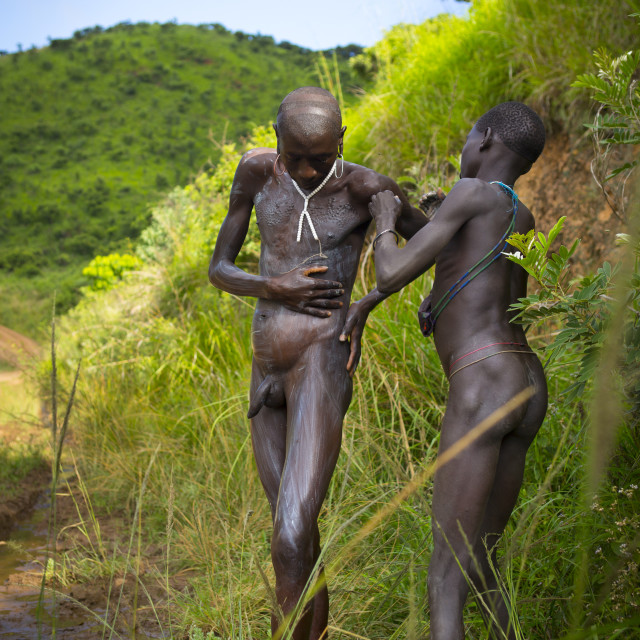 naked nude african boys