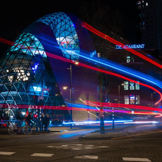 """Blob building, Eindhoven, Netherlands"" stock image"