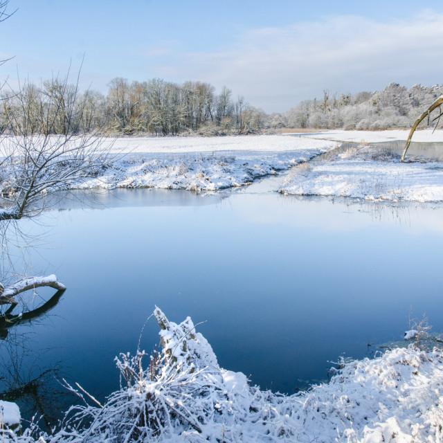 """Winter Peacefulness"" stock image"