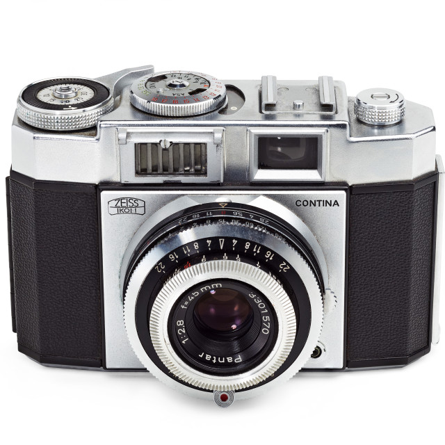 """Retro Zeiss camera"" stock image"