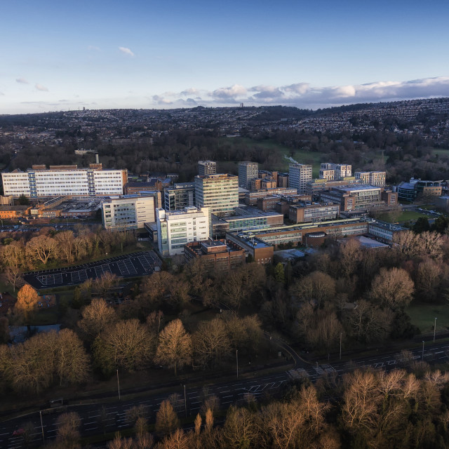 """Swansea University campus"" stock image"