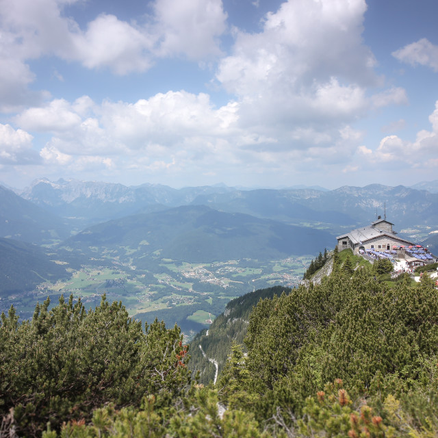 """View from the Eagles Nest"" stock image"