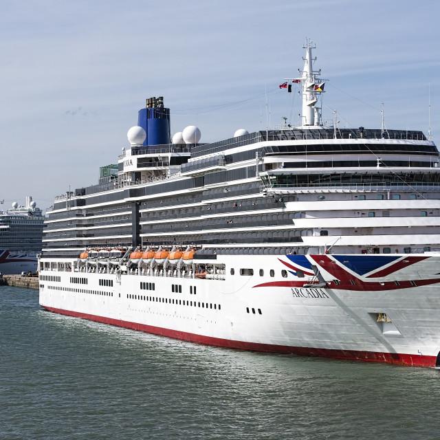 """""""Cruise Ships"""" stock image"""