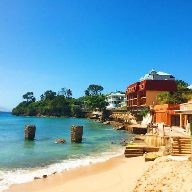 """""""Beachfront"""" stock image"""