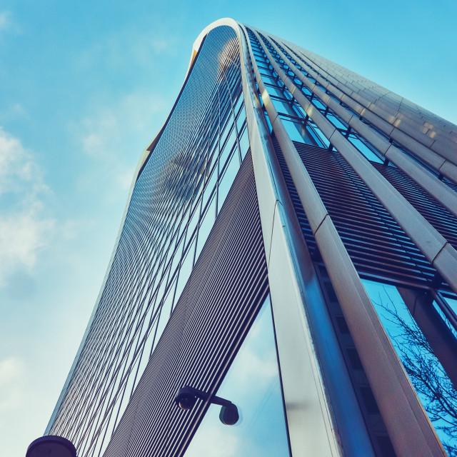 """Walkie Talkie building in London"" stock image"