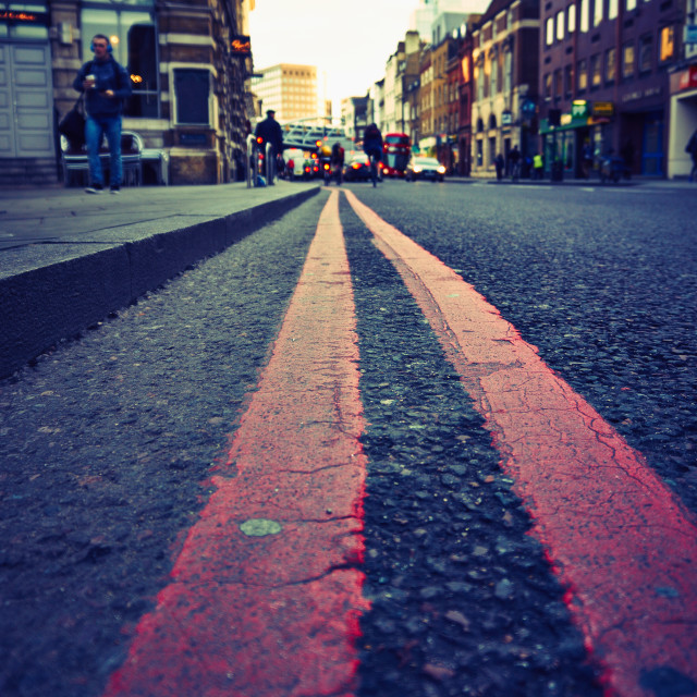 """Road in London"" stock image"