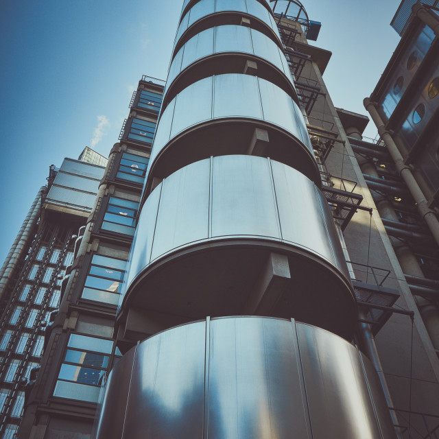 """""""Tall Building in London"""" stock image"""