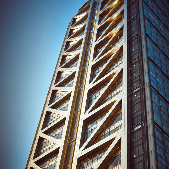 """London Tower Block"" stock image"