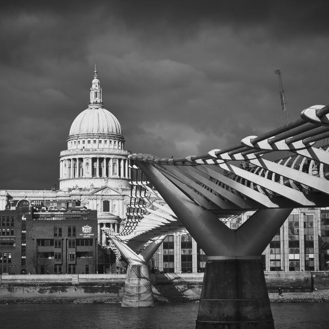 """Thames London"" stock image"