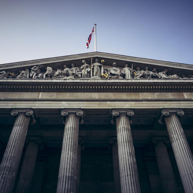 """The British Museum"" stock image"