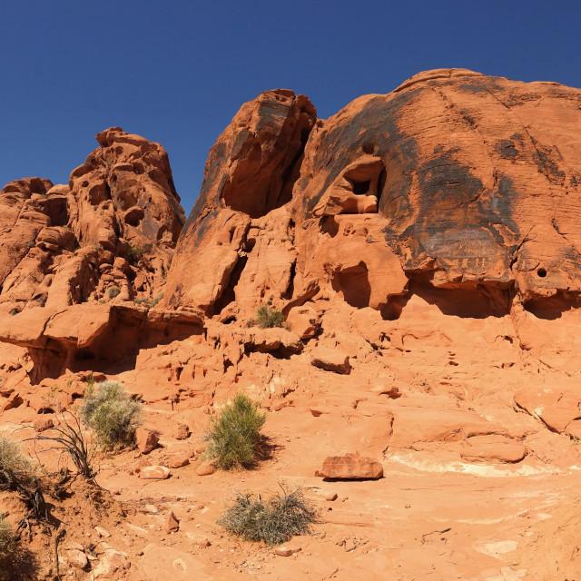 """""""Desert panorama"""" stock image"""