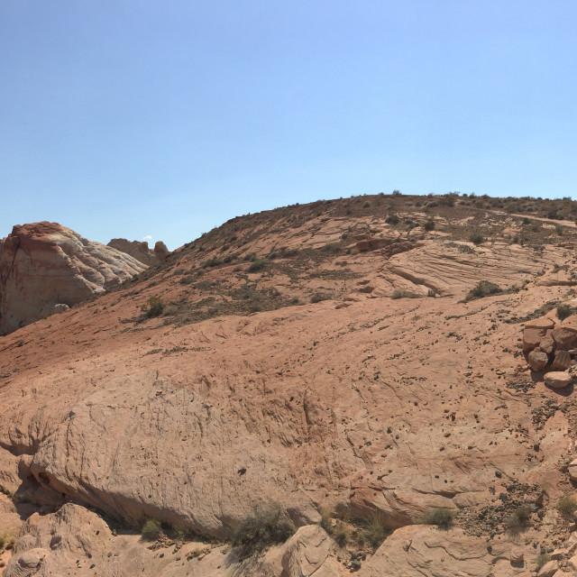 """""""Desert Landscape 4"""" stock image"""