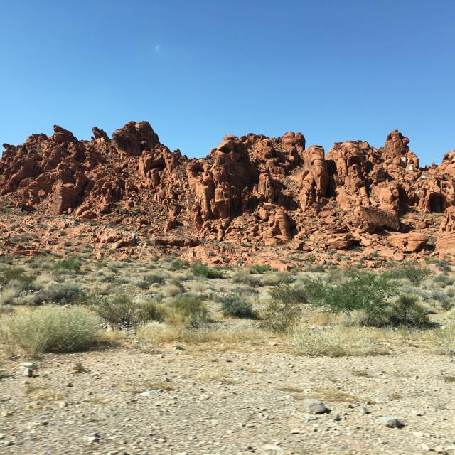 """""""Desert Landscape 6"""" stock image"""
