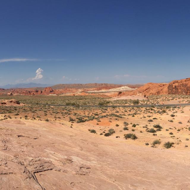"""""""Desert Landscape 5"""" stock image"""