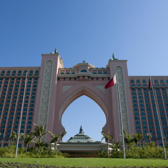 """""""Atlantis Hotel In Dubai"""" stock image"""