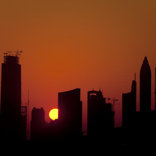 """Buildings Sites In Dubai"" stock image"