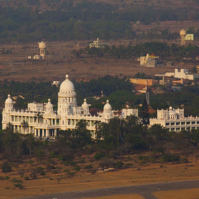 """Lalitha Mahal Palace, Mysore, India"" stock image"