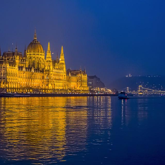 """""""Blue Danube."""" stock image"""