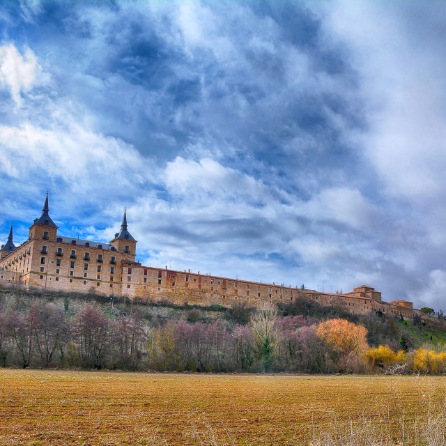 """Ducal palace at Lerma, Castile and Leon. Spain."" stock image"