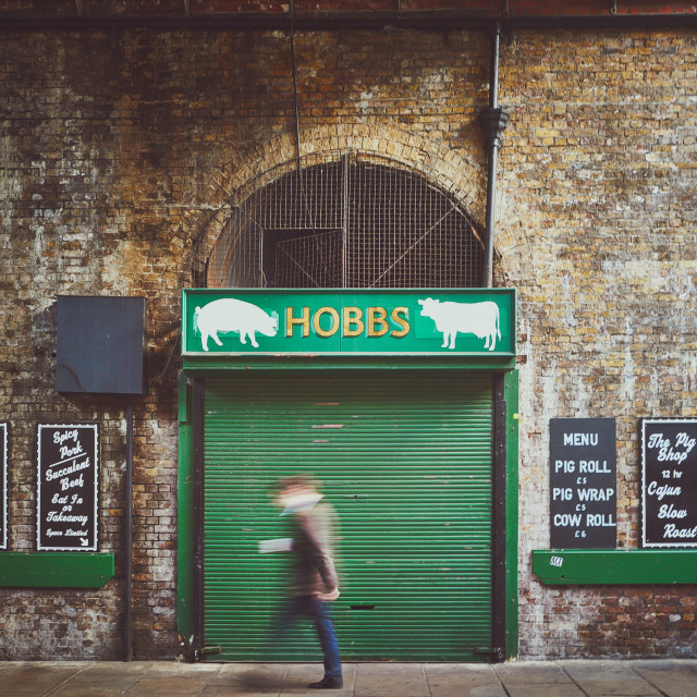 """Hobbs Sandwich Bar"" stock image"