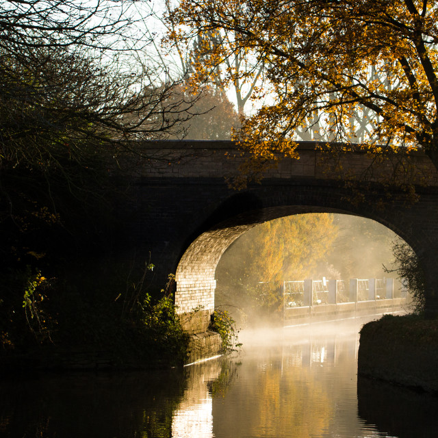 """River Thames Bridge at first light"" stock image"