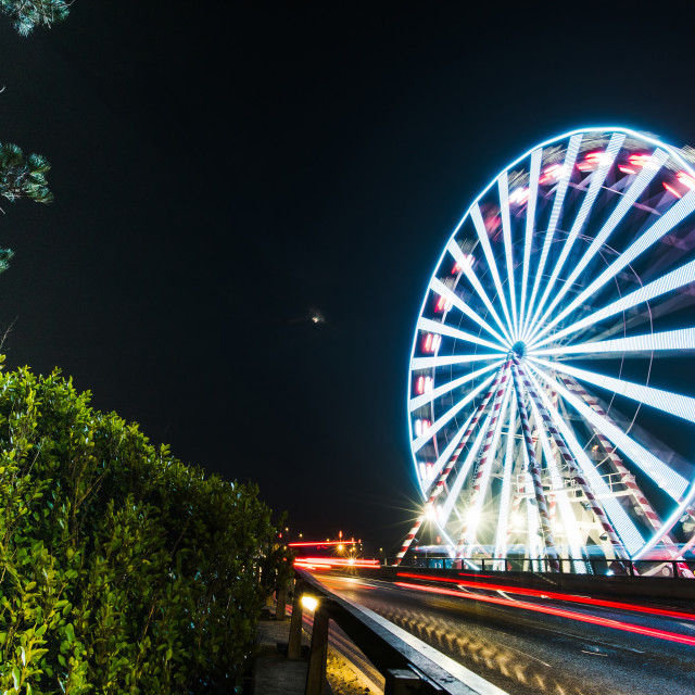 """""""Bournemouth Pier Approach in Summer"""" stock image"""