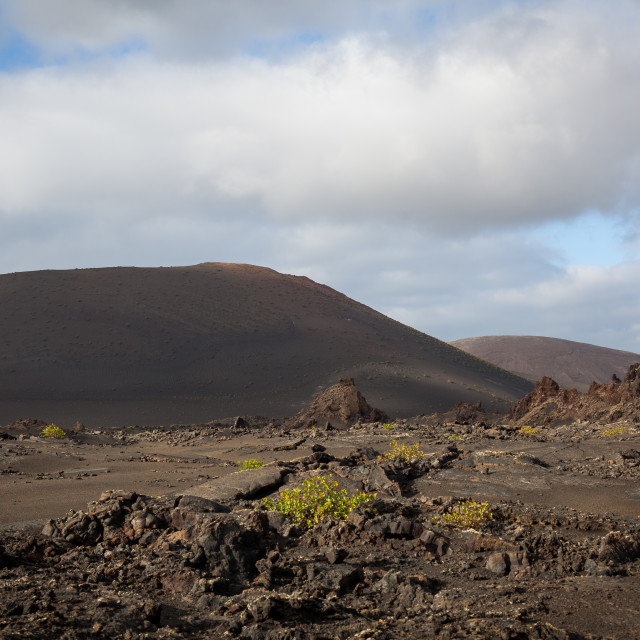 """Lanzarote, one of Spain's Canary Islands"" stock image"