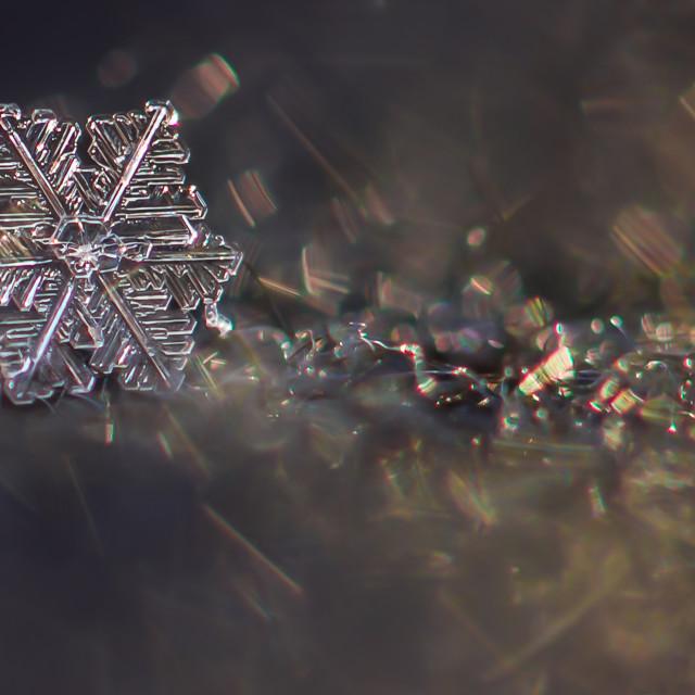 """Snowflake"" stock image"