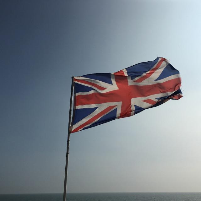 """""""The Union Jack"""" stock image"""