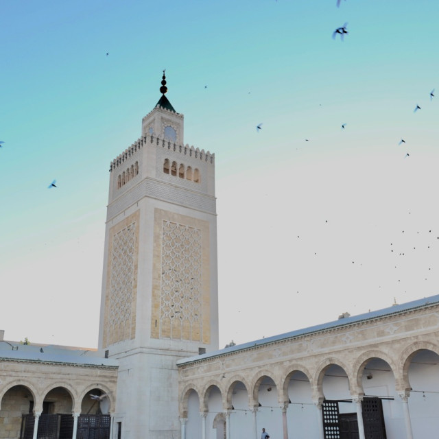 """Zitouna Mosque"" stock image"