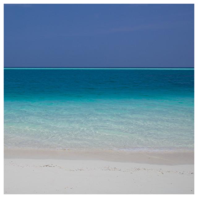 """Blue Beach"" stock image"