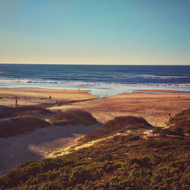 """""""Beach Afternoon Ericeira Portugal"""" stock image"""