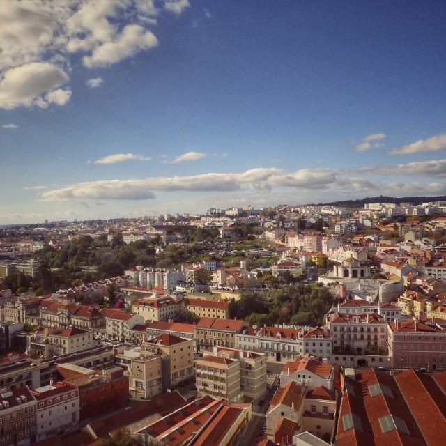 """""""City Landscape Lisbon View"""" stock image"""
