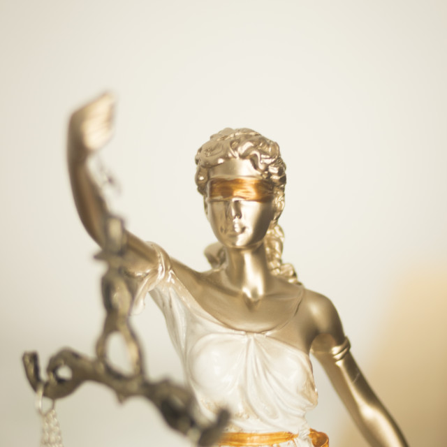 """Lawyers legal justice statue"" stock image"